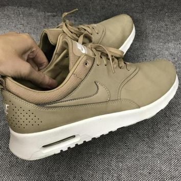 NIKE Women Men Running Sport Casual Shoes Sneakers khaki