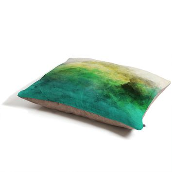 Allyson Johnson Peacock Ombre Pet Bed