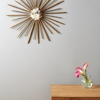 Stelliform Wall Art by Anthropologie in Brass Size: One Size Decor