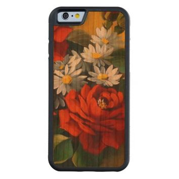 stunning colored bouquet carved® cherry iPhone 6 bumper