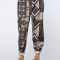 Ladakh The Tribal Jigsaw Pant in Multi : Karmaloop.com - Global Concrete Culture