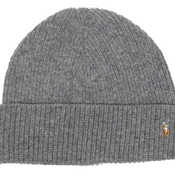 "Polo Beanie ""Light Grey"""