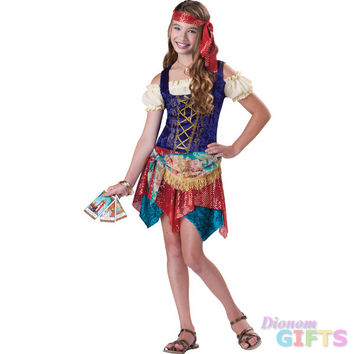 Girl's Costume: Gypsy's Spell-Small