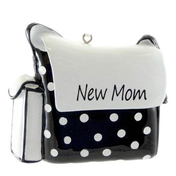 Personalized Ornaments Diaper Bag Personalized Ornament