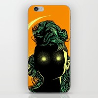 Mystery woman iPhone & iPod Skin by barmalisiRTB