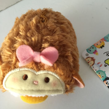 disney japan authentic year of monkey daisy duck mini tsum plush new with tags