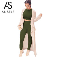 Anself Sexy Rompers Women Jumpsuit 2016 Fashion Bodysuit Long Sleeve Bodycon Jumpsuit Romper Sexy Playsuits Long Pants Plus Size