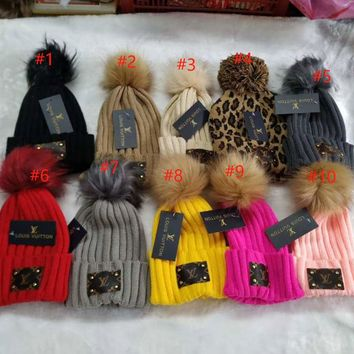 LV BEANIES IN STOCK ON 10-10