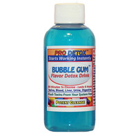 Detox Drink - PRO DETOX Bubble Gum Flavored  Rapid Toxin Flush Drink