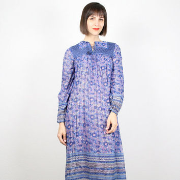 Light Purple Hippie Dress