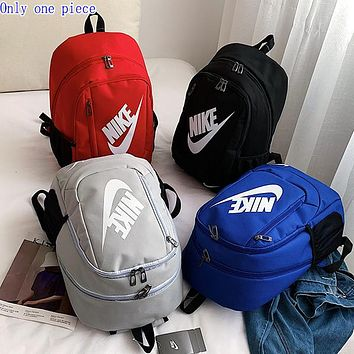 NIKE Sells Fashion Men and Women's Large Backpacks and Shoulder Bags