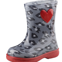 igor Girl's Pipo Leo Red Rain Boot