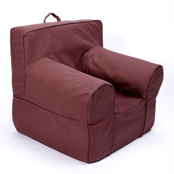 Brown Chair Cover for Foam Childrens Chair