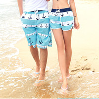 Couples QUICK DRY Surf Board Shorts Swim Wear Beach Sports Trunks Summer Pants