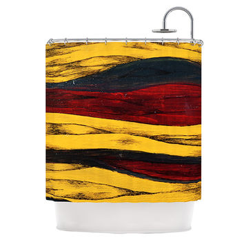 "Brittany Guarino ""Sheets"" Shower Curtain, 69"" x 70"" - Outlet Item"