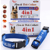 Hot Kill Flea & Tick Collar For Large Dog Cat Pet Supplies Product Adjustable For S/L Large Small Dogs Cats  Pets Puppies