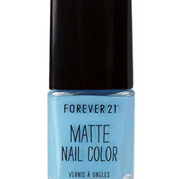 Blue Dream Matte Nail Polish