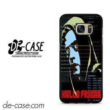 Hello Friends Mr Robots DEAL-5229 Samsung Phonecase Cover For Samsung Galaxy S7 / S7 Edge