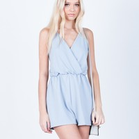 Front Wrapped Romper