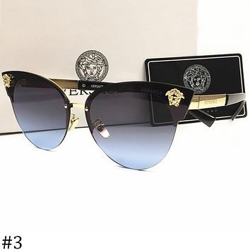 Versace 2018 men and women large frame polarized color film sunglasses F-AJIN-BCYJSH #3