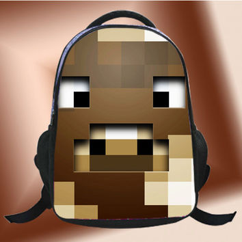 Minecraft Cow - SchoolBags.
