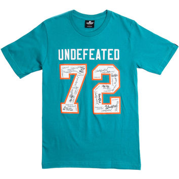Undefeated - Autograph 72 T-Shirt - Teal /