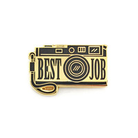 Best Job Lapel Pin