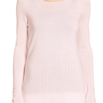 Eileen Fisher Ballet Neck Tunic Top (Regular & Petite) | Nordstrom
