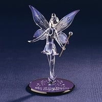 Glass Baron Fairy 'All Your Dreams' Glass Figurine