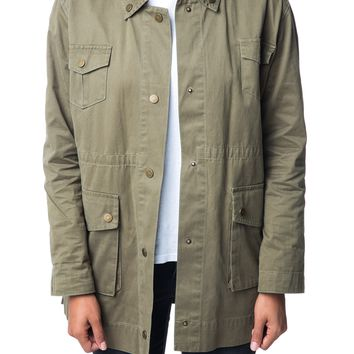 ALEXA MILITARY JACKET - OLIVE – Shop Sincerely Jules
