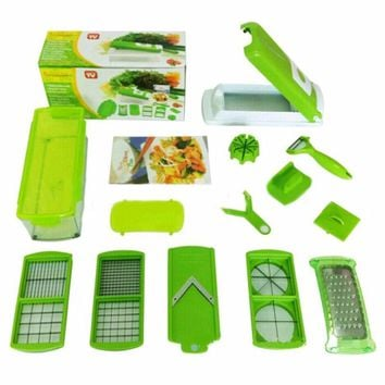 12 in 1 Multi-functional Grater Vegetable Cutter Sets Food Container