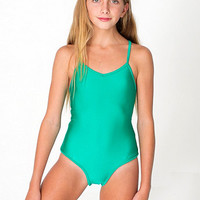 American Apparel - Youth Nylon Tricot One-Piece Bathing Suit