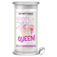 Mom You Are The Queen!   Jewelry Greeting Candle®