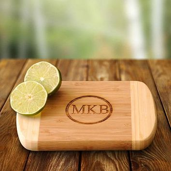 Personalized Bamboo Bar Board Free Engraving