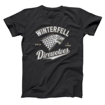Game of Thrones Winterfell Direwolves Men's T-Shirt