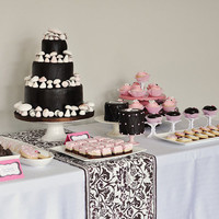 Girly Woodland Dessert Table | Flickr - Photo Sharing!