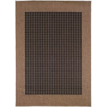 Couristan Recife Checkered Field Area Rug