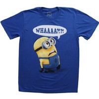 Despicable Me Whaaa Minion T-shirt:Amazon:Clothing