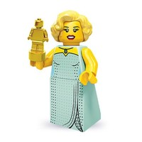 Lego 71000 Series 9 Minifigure Hollywood Starlet