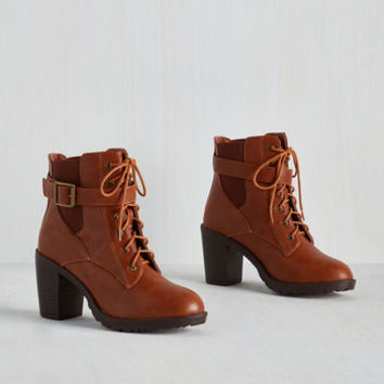 Safari Intrepid Steppin' Bootie by ModCloth