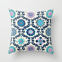 love me; Throw Pillow by Pink Berry Patterns