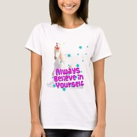 Traffic Cone Unicorn Horse Always Believe Yourself T-Shirt