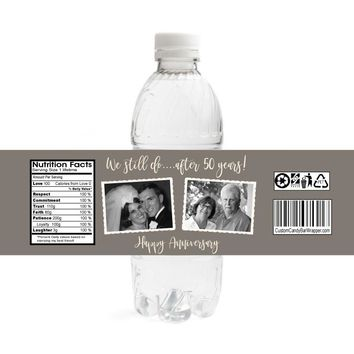 We Still Do Anniversary Water Bottle Labels