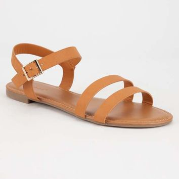 BAMBOO 2 Strap Ankle Womens Sandals | Sandals