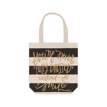 without a smile tote
