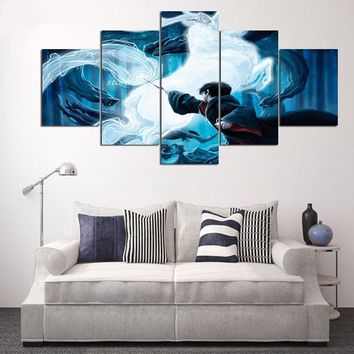 5-Panel Harry Potter Prisoner Azkaban Modern Canvas Painting