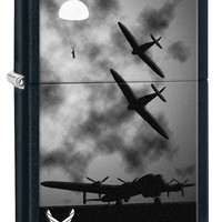 Zippo U.S. Air Force Black Matte Lighter