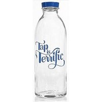 Tap is Terrific - Glass Water Bottle : Daytrip Society
