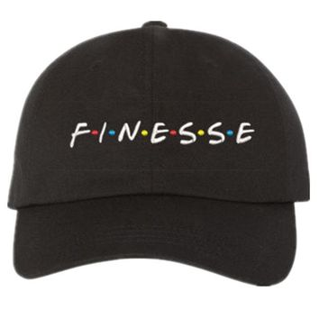 Finesse text dad hat
