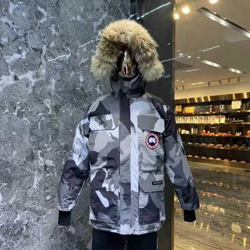 Canada Goose men's / women's Kensington Parka Coat(Wolf hair collar)